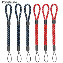 Portefeuille 10PCS Adjustable Wrist Straps Hand Lanyard for iPhone 7 8 X Samsung Camera GoPro USB Flash Drives Keys PSP Keycord(China)