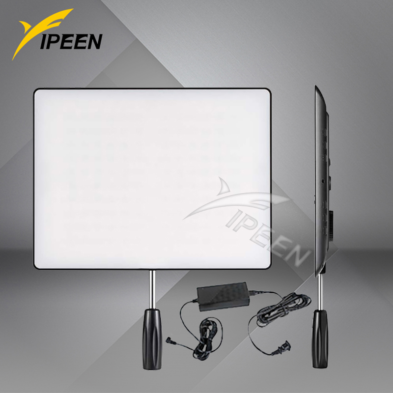 YONGNUO YN600 Air Led Video Light Panel 3200K-5500K Bi-color Photography Studio Lighting with AC Power Adapter<br><br>Aliexpress