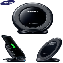 100% Original Samsung Fast Wireless Charger Qi Charging pad For Samsung Galaxy S7 edge S8+ Note 5 S6 edge Plus Stand EP-NG930