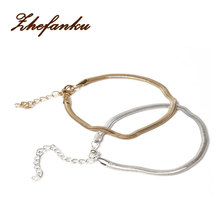 New Fashion Accessories Fine Jewelry Gold Chain Anklet Adjustable Charm Anklet Ankle Leg Bracelet Foot Jewelry Body-0238(China)
