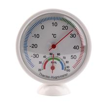 Draagbare Indoor Outdoor Digitale Thermometer Hygrometer Mini Pointer Temperatuur Meter Weerstation Neasuring Termometro