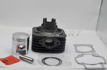 47mm For 70cc Piaggio Typhoon Cylinder Set with 12mm piston pin 1.5mm piston ring