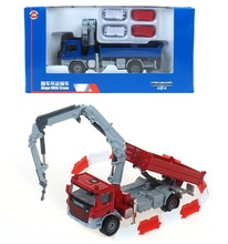 Kaidi Wei alloy car models 1:50 truck crane truck Crane simulation Original toy car toys for children(China)