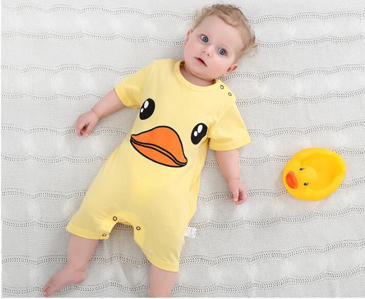 summer 2018 baby bodysuits 0-24M short sleeve body babies newborn baby girl boy clothing cotton infant jumpsuit cartoon costume 11