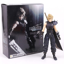 Play Arts Kai Final Fantasy VII 7 NO.1 Cloud Strife PVC Action Figure Collectible Model Toy 26cm(China)