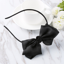 1 PCS New Fashion Ribbon Children Girls Ladies Headband Hair Band Bow Accessories Gift