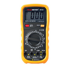 MY60 Digital Multimeter AC/DC Voltage Current Resistance Capacitance Tester Professional Multimetro Ammeter Multitester(China)