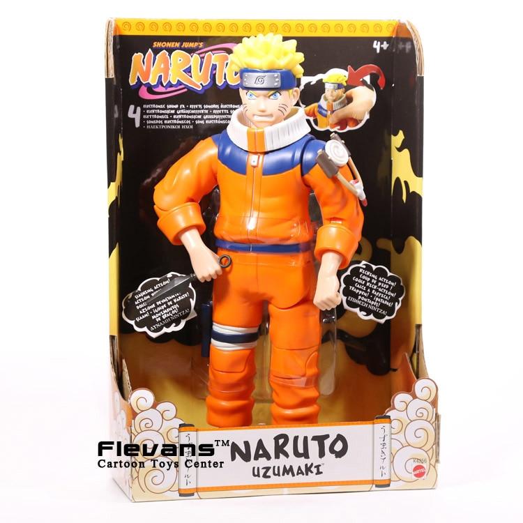 Anime Naruto Uzumaki Naruto PVC Action Figure with Sound Collectible Model Toy NTFG087<br>