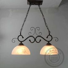 European Garden chandelier retro village double restaurant chandelier Mediterranean special iron bar GY145(China)