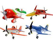 Disney Planes Dusty Skipper Echo Ishani Rochelle The King Toy alloy model aircraft Daquan(China)