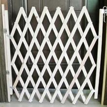 Pet Isolation Gate Simple Stretchable Wooden Fence Durable Baby Protection Pet Isolation Fence(China)