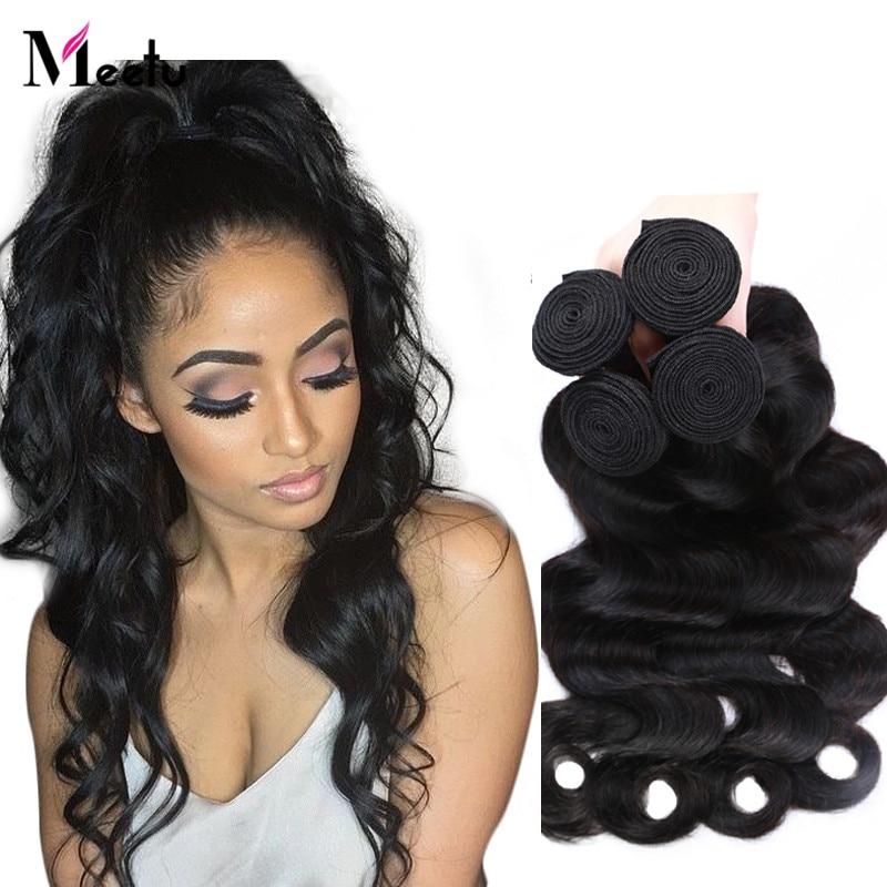 Top 7A Malaysian Body Wave Human Hair Weave 4 Bundle Deals Cheap Malaysian Virgin Hair Body Wave Natural Black Virgin Human Hair<br><br>Aliexpress