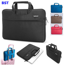 11,12,13,14 15 15.6 inch Notebook bag handbag Laptop Briefcase for Dell HP Asus Toshiba Acer Lenovo computer Carrying case(China)