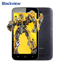 "Original Blackview A5 4.5"" 3G Smartphone Android 6.0 MTK6580 Quad Core 1G+8G 5MP WiFi Dual SIM GPS Smart Wake Mobile Phones(China)"
