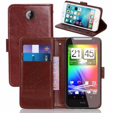 "GUCOON Vintage Wallet Case for HTC Desire 310 dual sim 4.5""PU Leather Retro Flip Cover Magnetic Fashion Cases Kickstand Strap"