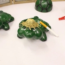 Lovely resin ashtray, turtle ashtray, desktop decorations, handicrafts, a nice gift for friends, free shipping(China)