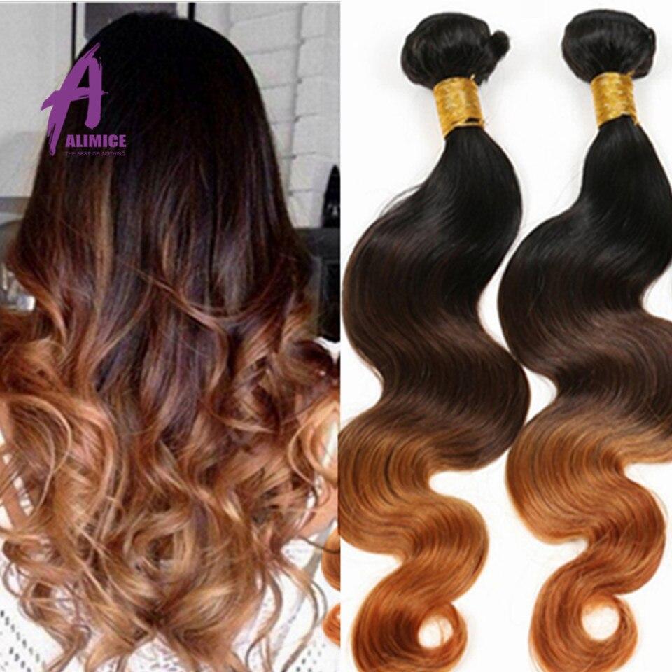 Ombre Hair Extensions 3 Tone Ombre Peruvian Virgin Hair T1B/4/30 Ombre Peruvian Body Wave, Ombre Human Hair Bundles Blonde <br><br>Aliexpress