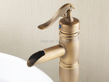 high quality brass antique bathroom faucets European style discount kitchen faucets single hanlde mix basin faucet
