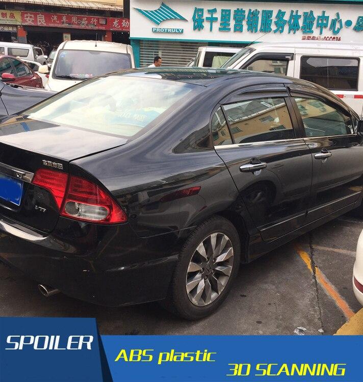 Window Visor Vent Sun Rain Guards Deflector For Honda Civic Sedan 2006-2011 4pcs