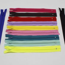 2 unids / lot 23 CM Length nylon zipper Invisible zipper bobbin DOG CLOTHING clothing tailor pillow cushion accessories for tool