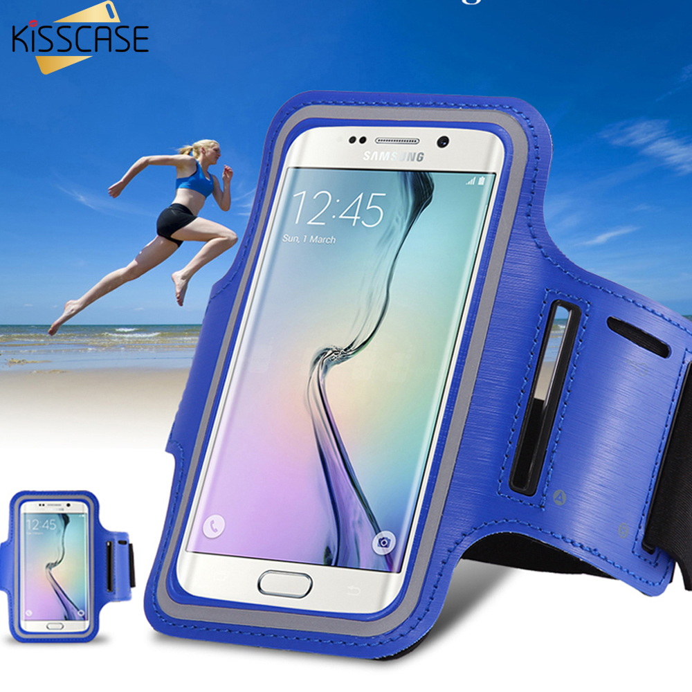 KISSCASE Sports Running Arm Band Leather Case For LG G2 For Google Nexus 5 For Samsung A5 Phone Arm Bag Band Holder Pouch Cover(China (Mainland))