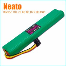 High quality NI-MH 12V 4500mAh Replacement battery for Neato Botvac 70e 75 80 85 D75 D8 D85 Vacuum Cleaner battery