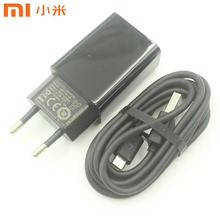 Original XIAOMI USB Charger 5V 2A EU Power Adapter 120CM Micro USB Data Cable for Mi 4 Redmi 3 3s 4 4A 4X Note 3 4 4X 5 ZENFONE(China)