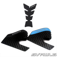 1 Set For CFMOTO 650NK 400NK 650 NK 400 NK Motorcycle Protector Anti slip Tank Pad tank Side Traction Sticker(China)