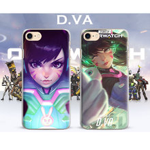 Ow Games Heroes D.va HANZO GENJI REAPER Ana Cute Phone Case Cover Shell For Apple iPhone 7PLUS 7 6SPLUS 6S 6PLUS 6 5 5S SE 4 4S(China)