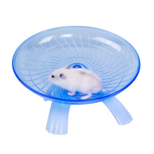 Hamster Running Wheel ,Small animal FrisbeeToys,Anti-slip Thread Design ProtectPets,No Noise,,Diameter18cm,Steel Shaft Bearings(China)
