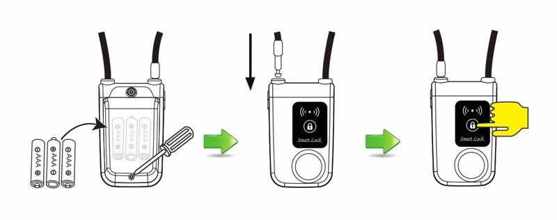 Bluetooth lock 77