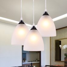 Light meal glass chandelier led bar counter light personalized pendant brief modern lighting fashion pendant lamp