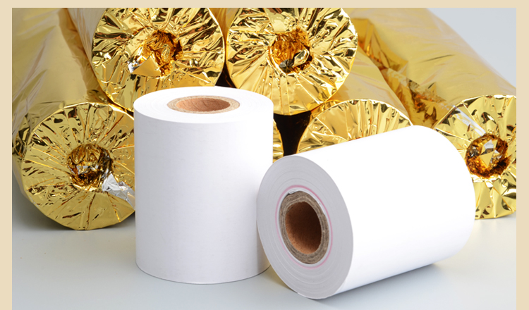 Cash register paper 57 * 50 thermal paper  pos machine printing paper 58mm small ticketpaper roll paper 24 volumes<br>