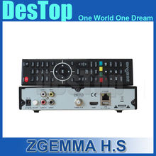 Zgemma Star H.S Satellite Receiver Single Tuner DVB-S2 Linux Operating System 2000 DMIPS CPU PROCESSOR 2pcs/lot by DHL