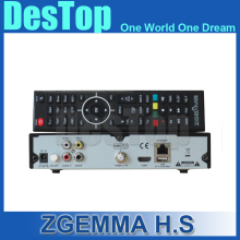 Zgemma Star H.S Satellite Receiver Single Tuner DVB-S2 Linux Operating System 2000 DMIPS CPU PROCESSOR 2pcs/lot by DHL(China)