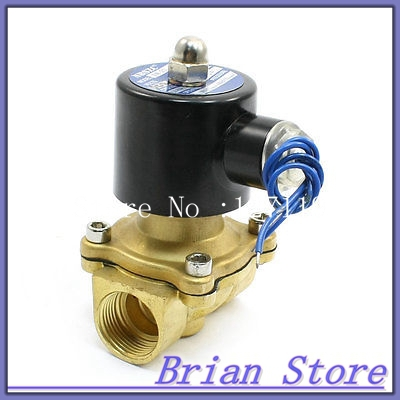 DC 12V 2 Way 2 Position 3/4 Water Gas Electric Solenoid Valve<br><br>Aliexpress