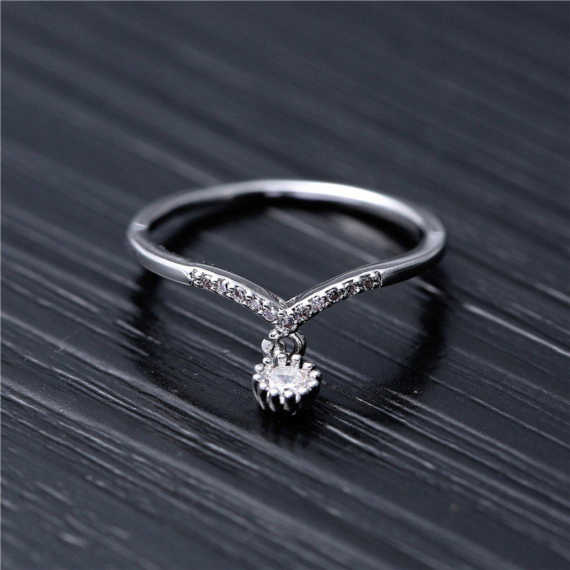 Round Pendant Rings Jewelry