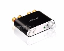 2017 Lastest Nobsound NS-10G TPA3116 Bluetooth 4.0 Mini Digital Amplifier Stereo HiFi Home Audio Power Amp 100W Black(China)