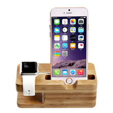 Universal Classic Wooden Mobile Phone Stand Holder for iPad iPhone 6 7 6s 6plus se 5 5s Plus iwatch Mobile Phone support holder