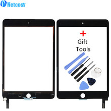 Netcosy Touch Screen Digitizer Front Touch Panel Glass for iPad Mini 4 TouchScreen Replacement Part TP + Repair Tool Accessories