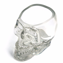 Imprison Doomed Pirate Crystal Cup 3D Whisky Vodka Skull Head Shot Glass Drinking Glasses Copo Gafas Caneca Vidro Verre Creative(China)