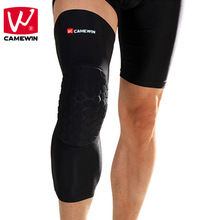 CAMEWIN 1 Piece Basketball Knee Pads Adult Football Knee Brace Support Leg Sleeve knee Protector Calf Support Snowboard Kneepad(China)