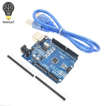 high quality One set UNO R3 (CH340G) MEGA328P for Arduino UNO R3 + USB CABLE ATMEGA328P-AU Development board(China)
