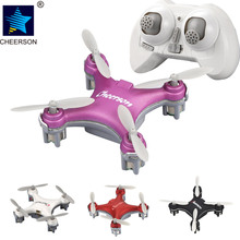 Mini Drone Quad Copter For Cheerson CX-10SE 2.4G Remote Control Helicopter 4CH 6Axis 3D Flips RC Quadcopter @ZJF