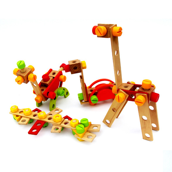 Chanycore Baby Learning Educational Wooden Toys Blocks Screws Nuts Assemblage Geometric Shape Combination ylb Kids Gifts 4222<br><br>Aliexpress