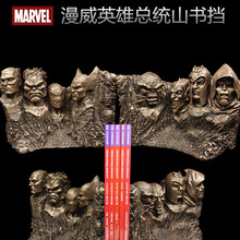 New Marvel Super hero Spider-man,Captain America HulkStatue etc Bookends Home Decoration Anime Fans Gift