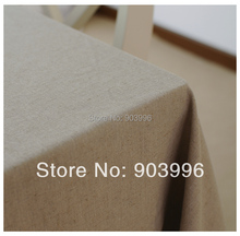 Free shipping-Contracted the Nordic style Pure color washed linen -(140*200cm)only 1pcs table cloth