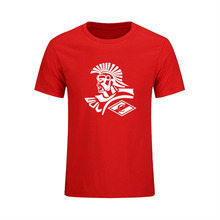 New FC Spartak Moscow Russian Logo T Shirt Men Fashion Casual Loose Short Sleeve Cotton T-shirts Clothing Tops Tee Sporting Suit