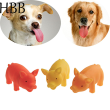 HBB Pet Toys Chew Squeaker Squeaky Rubber dog toys for large dogs Pet Supplies Sound screaming Pig For Dog jouet pour chien Hot
