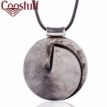 Beautiful Silver necklaces & pendants Vintage Long Necklaces for women 2017 New Fashion Men Jewelry statement necklace Women(China)